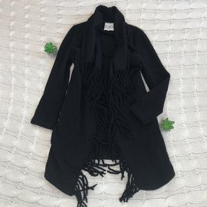 {BB Dakota} Tassel Open Sweater Coat Fringe